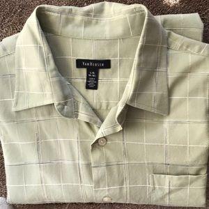 VAN HEUSEN DRESS SHIRT L/G 16-16 1/2